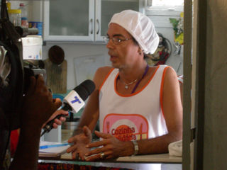 Diavola being interviewed